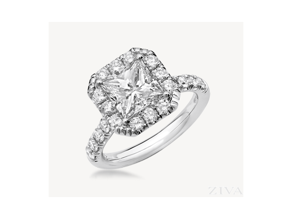 Engagement Ring by Ziva Jewels